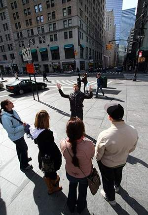 Exploring Downtown Manhattan on CityRover's Behind the Wall Tour