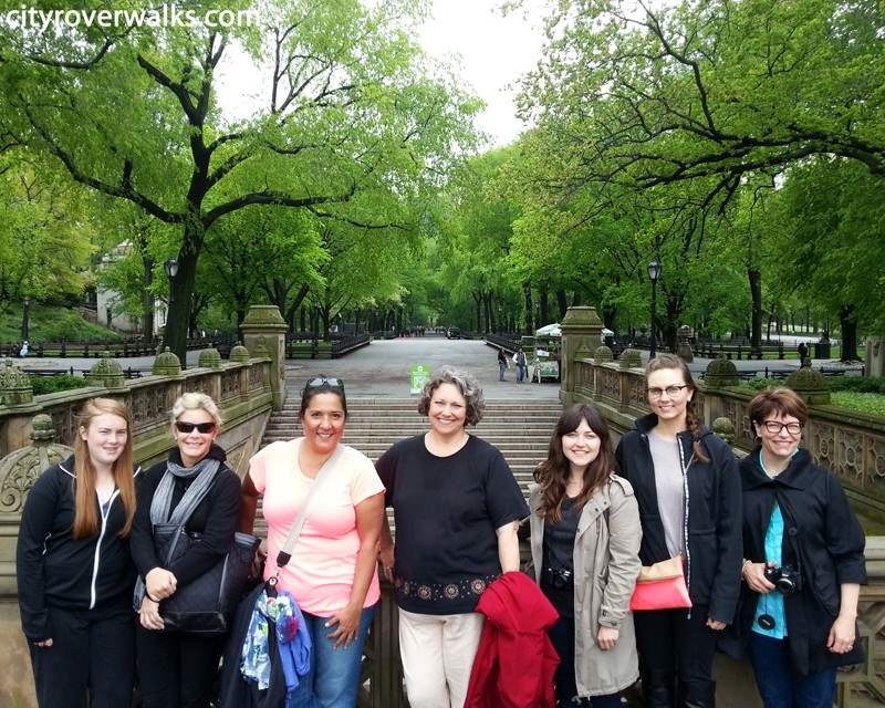 Central Park Tour Group Near Mall