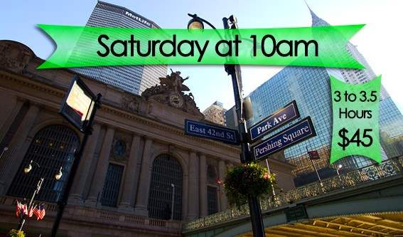 Join CityRover for a walking tour covering some of NY's most famous landmarks