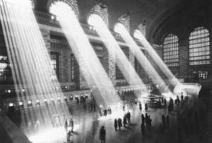Morning Light Flooding Grand Central Terminal's Main Concourse
