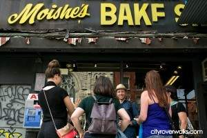 A visit to Moishe's Bakery in the East Village is always a treat