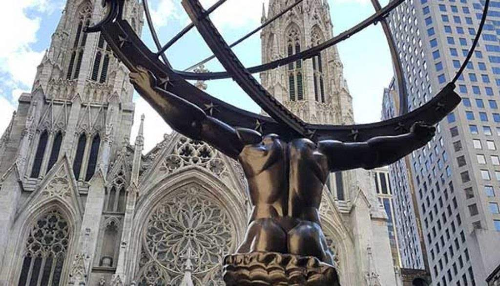 Atlas on Fifth Avenue
